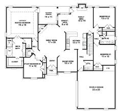 5 bedroom floor plans level 1 single floor 4 bedroom house plans kerala single story 5
