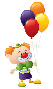 clowns balloons clowns balloons stock image image of happiness hair 45748423