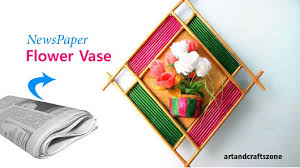 Best Out Of Waste Flower Vase Art And Crafts Zone Google