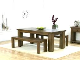 dining room sets with bench dining sets with bench kitchen table bench magnificent adorable