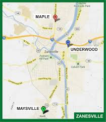 Coshocton Ohio Map by Digital Outdoor U2014 Barnes Advertising