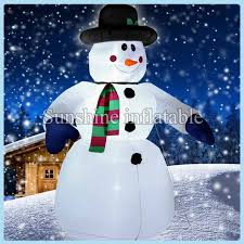 Large Christmas Inflatable Yard Decorations by Popular Inflatable Outdoor Snowman Buy Cheap Inflatable Outdoor