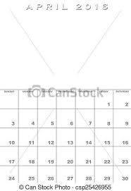stock images of april 2016 calendar template month of april 2016