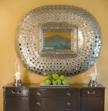 buffet staging dining room contemporary with gilded mirror plastic