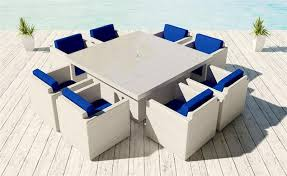 White Wicker Patio Chairs White Wicker Dining Set Viro 15 Colors