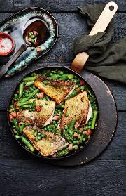 cuisine brochet recette brochet croustillant aux pois des chs et à la
