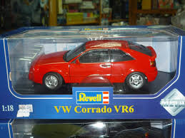 1995 volkswagen corrado revell 08877 9092 vw corrado vr6 model road car red diecast ebay
