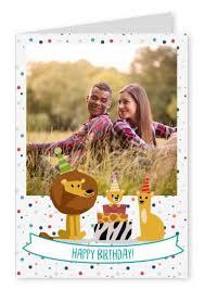 send birthday card happy birthday lion happy birthday cards send real