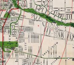 map of cleveland how shaker s neighborhoods were lost