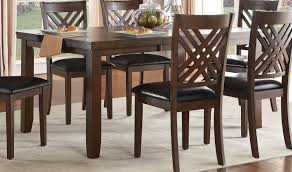 homelegance sandia dining set brown cherry d5467 66