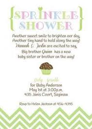 what is a sprinkle shower baby sprinkle invitation girl version any color couples pink