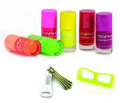 buy color fever neon nail polish combo online at low prices in