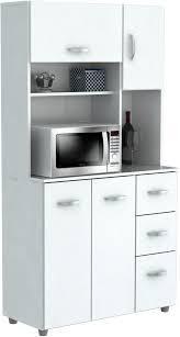 storage kitchen cabinets cost inval america 4 door microwave storage cabinet laricina white