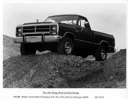 Ram Dodge Pickups 1981 93 History Of Trucks First Pickup Truck In America Cj Pony Parts