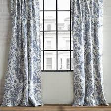 Silver And Blue Curtains Best 25 Paisley Curtains Ideas On Pinterest Bohemian Curtains