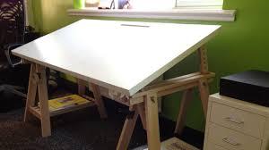 Adjustable Drafting Table Plans Living Room Excellent Attractive Artist Desks Diy Drafting Table