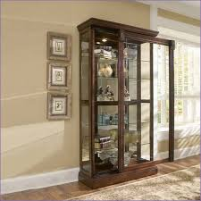 Ashley Curio Cabinets Dining Room Furniture Kitchen Room Cherry Wall Curio Cabinet Pulaski Corner Curio