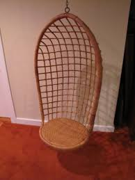 mid century hanging egg chair hanging rattan egg chair hanging