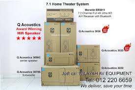7 1 home theater speakers popular hi fi sound systems in malaysia wilayah av equipment