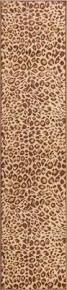 Brown Animal Print Rug Brown Rugs A Full Range Of Shapes Sizes Designs Well Woven