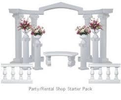 Wedding Arches Columns 58 Best Altar Decor Wedding Images On Pinterest Decor Wedding