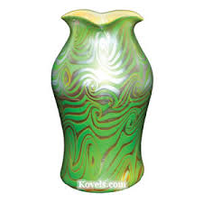 Tiffany Favrile Glass Vase Antique Tiffany Glass Glass Price Guide Antiques