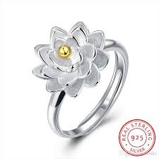 sted rings 100 925 sterling silver ring women s jewelry fashion flowers