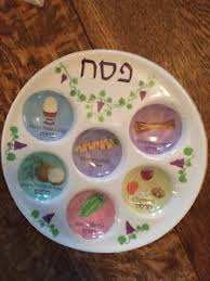 passover seder supplies passover seder plate color pastels names in hebrew