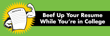 How To Spice Up A Resume Beef Up Your Resume While In College Student Health And