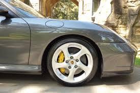 porsche slate grey metallic porsche 996 turbo s coupe rare
