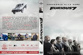 download movie fast and the furious 7 furious 7 dvd cover 2015 r0 custom art