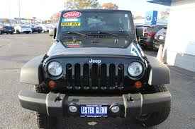 jeep wrangler 4 door blue jeep wrangler rear wheel drive in new jersey for sale used cars