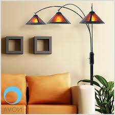 nova mica 3 light arc floor lamp lamps home decorating ideas