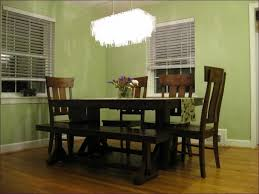 Chandelier Over Table Dining Room Dinner Table Lighting Long Dining Table Chandelier