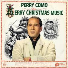 perry como sings merry cd album record