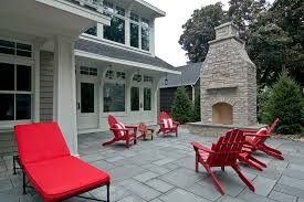 Outdoor Fireplace Patio Freestanding Outdoor Fireplace Patio Traditional With None