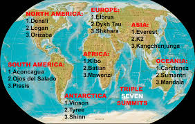 Seven Continents Map Christian Stangl Wikiwand