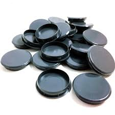35mm gloss grey plastic hinge hole cover caps for kitchen cabinet