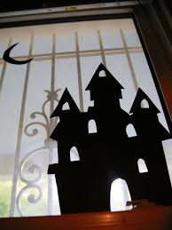 how to make halloween window silhouettes how tos diy