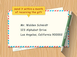 how to write a thank you note 9 steps with pictures wikihow