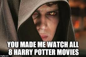 Anakin Skywalker Meme - anakin skywalker vs harry potter meme generator imgflip