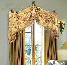 Arched Window Curtain Scarf Swag Window Treatments U2013 Skippr Co