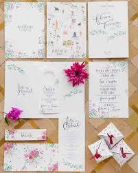 Map Wedding Invitations Wedding Stationery Styles For Every Personality Martha Stewart