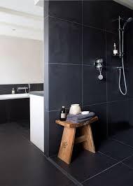 Grey Slate Tile Bathroom Best 25 Dark Bathrooms Ideas On Pinterest Slate Bathroom