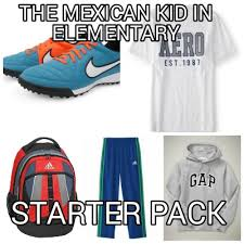 Meme Generator Starter Pack - meme maker the mexican kid in elementary starter pack