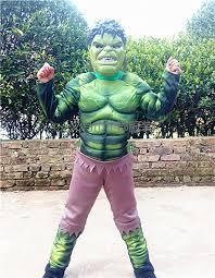 Iron Man Halloween Costume Toddler Halloween Children Hulk Iron Man Captain America Ant Man Muscle