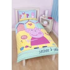 Peppa Pig Toddler Duvet Cover Character Bedding U0026 Duvet Covers Homespace Direct