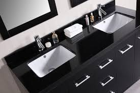 Vanity Countertops With Sink Cosmo 60 U2033 Double Sink Vanity Set In Espresso Design Element