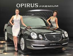 kia amanti jaguar facelifted 2010 kia opirus premium debuts in korea