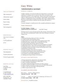 Examples Of Administrative Assistant Resume by This Professionally Designed Administrative Assistant Resume Shows
